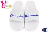 Champion拖鞋 現貨 字母風 運動拖鞋 情侶拖鞋C9961#白色◆OSOME奧森童鞋/小朋友