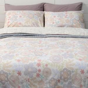 (組)希河+曲蘿木棉絲涼被枕套三件組