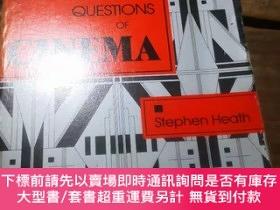 二手書博民逛書店《QUESTIONS罕見OF CINEMA》Y2233 Stephen Heath INDIANA 出版19
