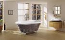 【麗室衛浴】BATHTUB WORLD  馬賽克古典貴妃缸 YG8502M 130*69*58CM