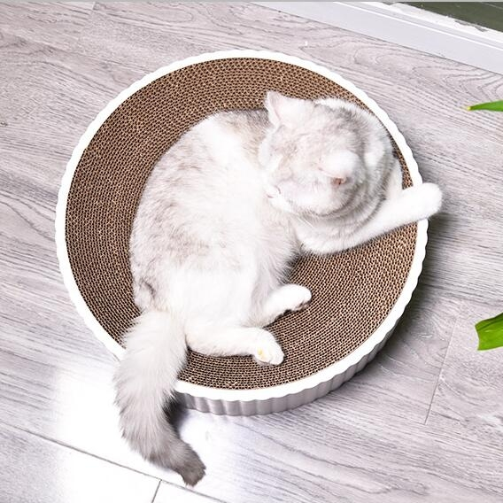 貓抓板窩磨爪貓爪板耐磨多功能瓦楞紙貓抓盆不掉屑貓玩具貓咪用品