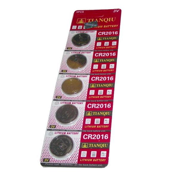 【GU210】環保型鈕扣&水銀電池CR2016 (一卡5入)~不拆售 EZGO商城