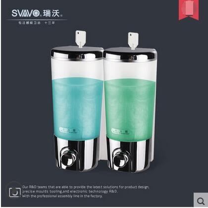 壁掛式酒店皂液器洗髮水瓶子洗手間洗手液瓶