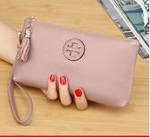 手拿包真皮手包女新款簡約時尚氣質牛皮軟皮手拿手拎手機零錢包小包 衣間迷你屋 交換禮物