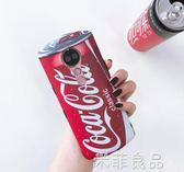 可口可樂3D效果 美圖T9手機殼T8s保護套M8全包防摔軟殼m6s矽膠軟套蘋果  『米菲良品』