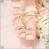 【白雪姬圓舞曲】原創洛麗塔中跟單鞋蝴蝶結甜美優雅Lolita女鞋