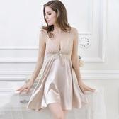 情調衣人春夏季冰絲女士睡裙成人騷絲質情趣內衣吊帶火辣性感睡衣