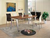 【新北大】✪ C875-3 優利5.3尺餐桌(不含餐椅)-18購