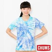 CHUMS 日本 女 Booby 短袖圓領T恤 水染雙色 CH111244Z077