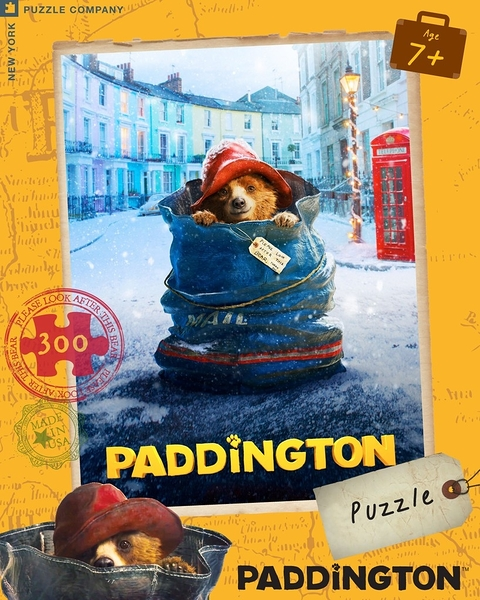 【KANGA GAMES】拼圖 柏靈頓:熊愛趴趴走電影海報 Paddington Movie Poster 300片