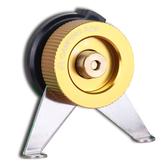 【速捷戶外露營】野樂 鋁合金定向瓦斯罐轉換接頭 卡式瓦斯轉接頭/轉接座 ARC-920-3