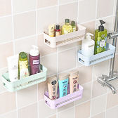 ✭米菈生活館✭【P326】強力黏膠長方置物架 浴室 洗手間 架子 廁所 收納架 衛生間 置物架