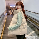 羽絨馬甲 羽絨棉馬甲女秋冬季2021年新款韓版外穿寬鬆短款坎肩馬夾背心外套 曼慕
