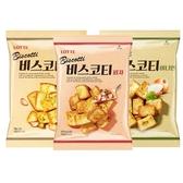 LOTTE 樂天 大蒜/洋蔥/披薩口味 麵包餅(70g) 款式可選【小三美日】