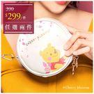 迪士尼櫻花系列化妝包-小熊維尼-單1款-A25250013-天藍小舖