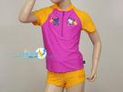 *日光部屋* arena (公司貨)/ Hello Kitty KSS-5506WJA-PKOG 女童連身泳裝(假二件式)