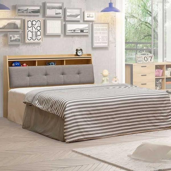 YoStyle 貝森床台組-雙人5尺 雙人床 床組 新房 工業風 專人配送