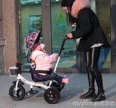 聚意兒童三輪車腳踏車1-3-6歲大號單車童車自行車男女寶寶手推車igo 美芭