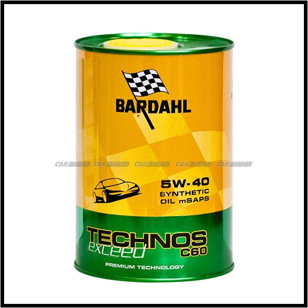 【愛車族】百達 BARDAHL TECHNOS C60 Exceed 5W40 機油1L