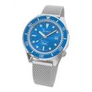 [Y21潮流精品直播] 新品上市!SQUALE 鯊魚錶 1521 海洋拋光-網格旭日藍色錶盤 錶徑42mm 瑞士機械表
