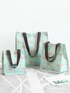 購物袋 大容量環保袋便攜購物袋帆布袋子時尚手拎袋外出手提袋折疊買菜袋 萊俐亞