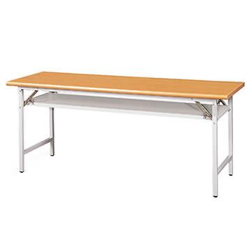 【nicegoods】木紋檯面折合式會議桌 1.5×4尺