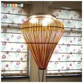 DecoBox中國古典竹燈罩(40公分)(桌燈罩.立燈罩.吊燈罩)-不含燈泡線材(插花,花器)