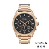 【官方旗艦店】NIXON BULLET CHRONO CRYSTAL 奢華時尚 玫瑰金 潮人裝備 潮人態度 禮物首選