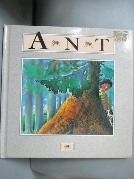 【書寶二手書T2/兒童文學_A41】The Ant : My First Nature Book_Kitty Bened