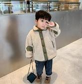 男童外套 春加厚寶寶冬裝2021新款韓版兒童夾克冬季小童棒球服冬【快速出貨八折鉅惠】
