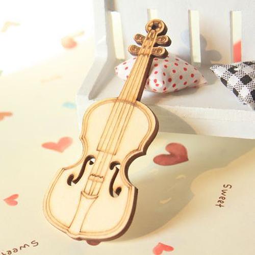 迷你木質小提琴1個價 網店攝影背景 淘寶拍照拍攝道具擺件飾品─預購CH1563