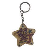 【收藏天地】台灣紀念品*木質鑰匙圈-墾丁