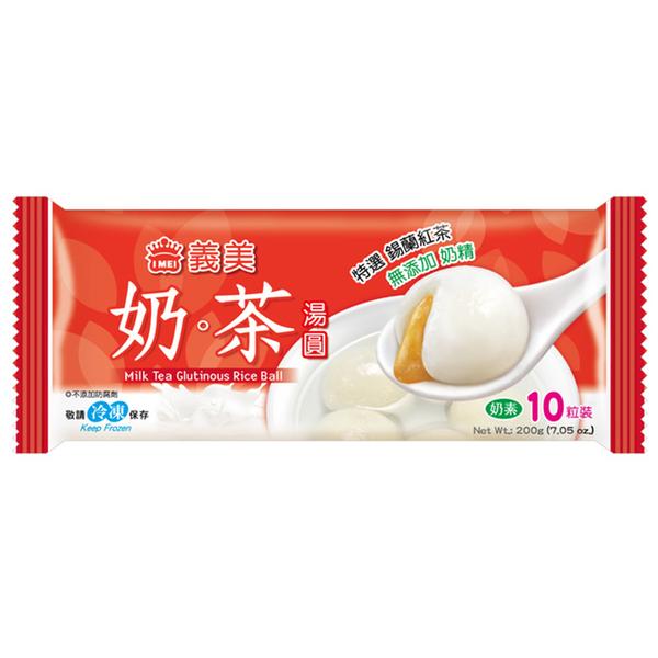 義美奶茶湯圓200g