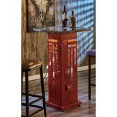 【森可家居】紅雙喜2尺石面吧台桌(不含椅) 7JF473-2 高吧檯餐桌