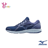 Mizuno慢跑鞋 女鞋 SPARK 5 運動鞋 跑步鞋 訓練鞋 輕量 耐磨運動鞋 美津濃 J9214#藍紫◆OSOME奧森鞋業