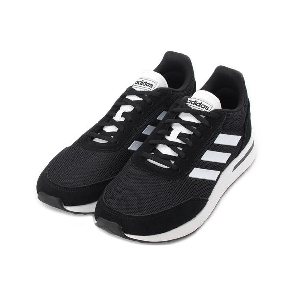 ADIDAS RUN70S NEO 輕量休閒鞋 黑白 EE9752 男鞋 鞋全家福