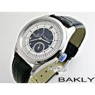 【完全計時】OUTLET手錶館│美國品牌BAKLY 日月原創機械腕錶 (BA7002-B)