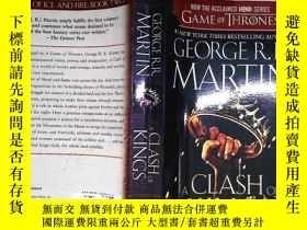 二手書博民逛書店A罕見Clash of Kings:A Song of Ice and Fire: Book TwoY2043
