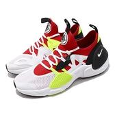 Nike 武士鞋 Huarache E.D.G.E. TXT QS 白 紅 全新系列 男鞋 運動鞋【ACS】 AO1697-100