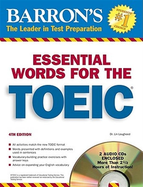 (二手書)Essential Words for the TOEIC with Audio CDs (600 Essential Word..
