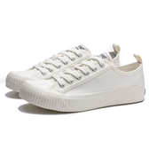 KANGOL 帆布 餅乾鞋 白色 全白 黑標 休閒 女(布魯克林) 6952200100
