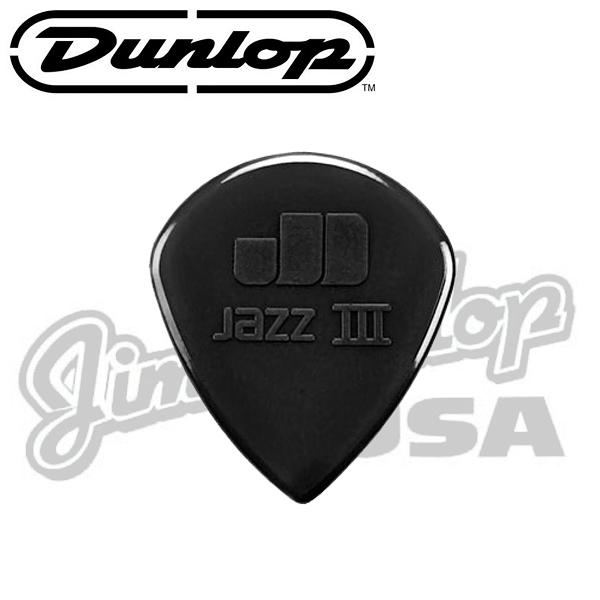 【非凡樂器】JimDunlop 特製JAZZIII pick/吉他彈片【黑】