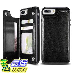 [8美國直購] 保護殼 UEEBAI Case for iPhone 7 iPhone 8, Luxury PU Leather Case [Two Magnetic Clasp]