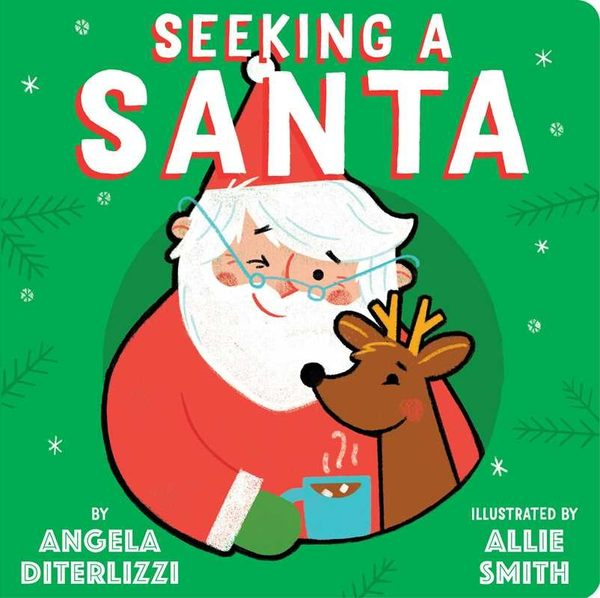 SEEKING A SANTA /硬頁書 《主題: 聖誕節》