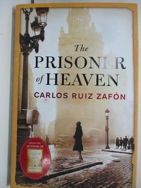 【書寶二手書T8/原文小說_DOY】The Prisoner of Heaven_Carlos Ruiz Zafón