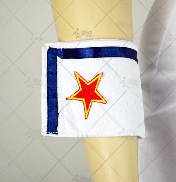 衣美姬♥白色水手服 角色扮演 海軍裝舞台演出服 派對遊戲服