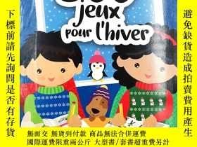 二手書博民逛書店500罕見jeux pour l hiver 法文兒童遊戲Y19139 mega editions ISBN