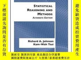 二手書博民逛書店(wcs)statistical罕見Reasoning And MethodsY256260 Richard