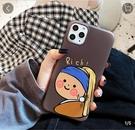 文藝女孩適用iPhone11Pro Max手機殼8Plus簡約6s/7p蘋果Xs/XR軟殼