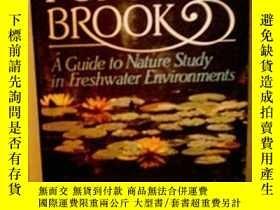 二手書博民逛書店Pond罕見And Brook: A Guide To Nature Study In Freshwater En